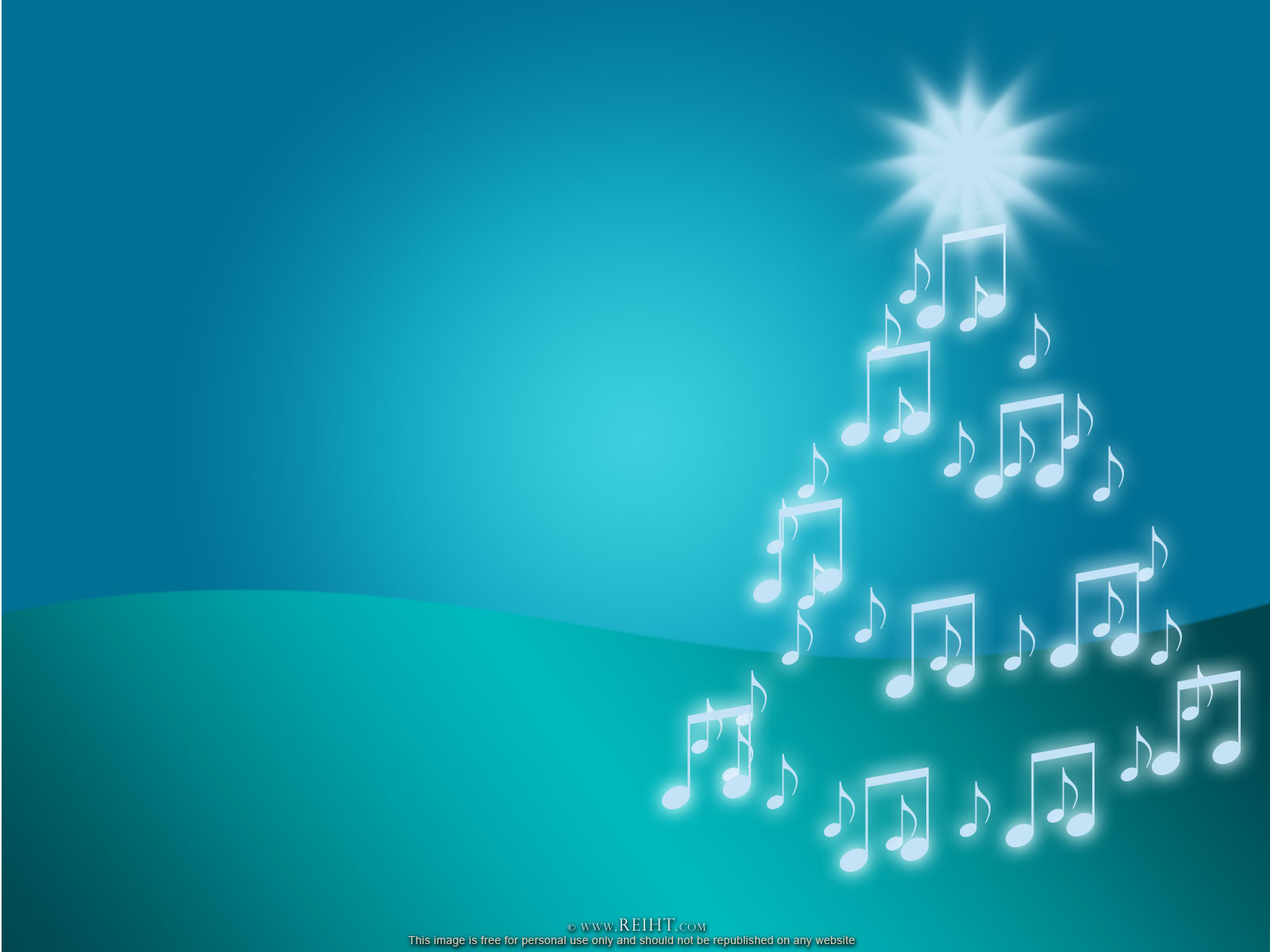 powerpoint and easy worship template - Christmas Background Music